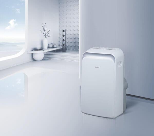 Mobiele airco verwarmen